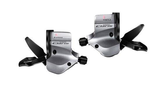 Shimano Claris SL-2400 schakelhendel 3x8-speed zilver